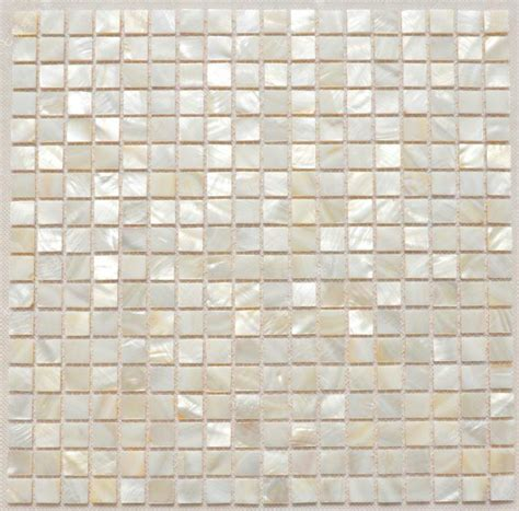 Waterproof Bathroom Tiles by Aliexpress Buy Square Sea Shell Mosaic Of