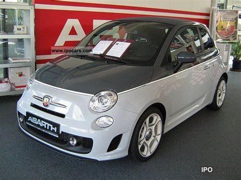 2011 abarth 500c manual bi colour car photo and specs