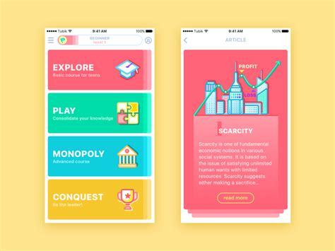 app design university moneywise app by ludmila shevchenko dribbble