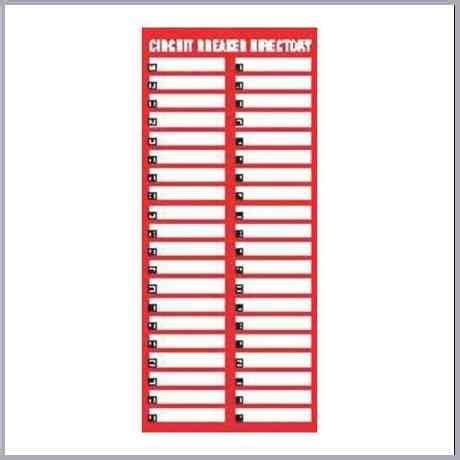circuit directory template circuit breaker directory template
