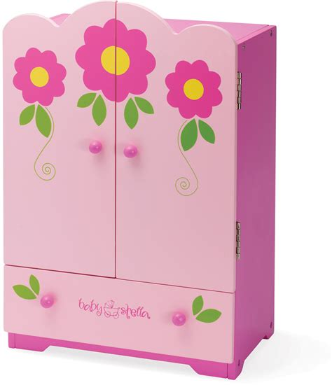 Wardrobe For Baby by Manhattan Baby Stella Tickled Pink Armoire Wardrobe