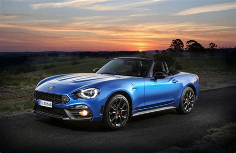 abarth 124 spider driven abarth ups 124 spider order