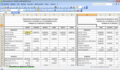 como hacer un presupuesto familiar the gallery for gt presupuesto familiar excel