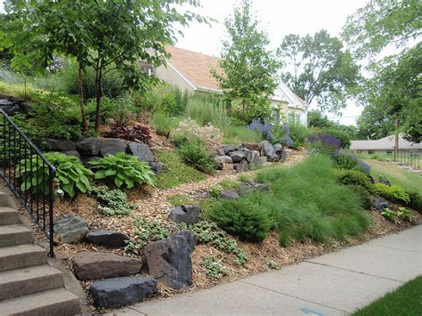 Backyard Slopes Toward House Local Inspiration For Your Nature Inspired Garden Part 1