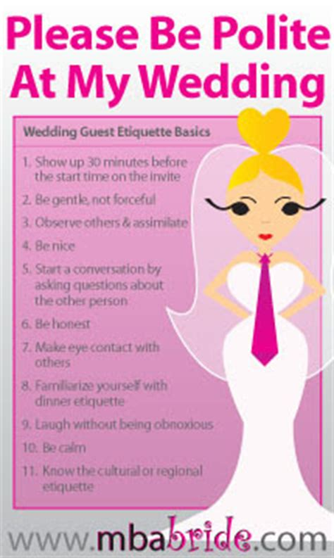 etiquette wedding invitations and guest 10 simple etiquette for wedding guest the mba