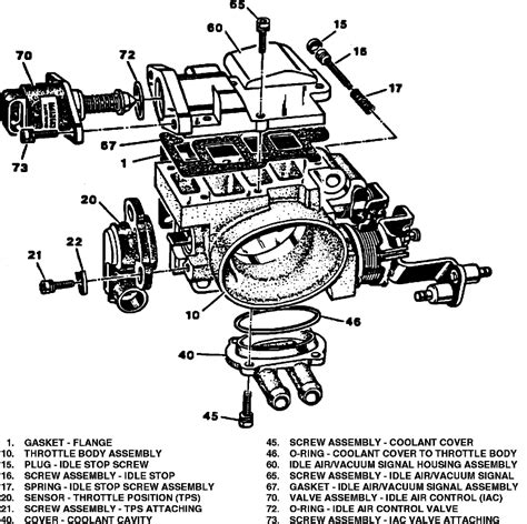 Throttle Diagram chevy blazer throttle position sensor location get free