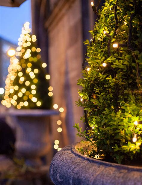 Christmas Tree Light Ideas Christmas Light Ideas White String Lights Outdoor