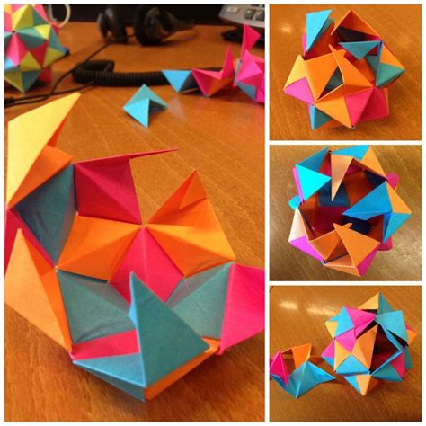 Origami With Post It Notes - 25 best ideas about origami on origami