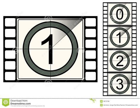 Film Strip Countdown Royalty Free Stock Image Image 3870786 Filmstrip Countdown