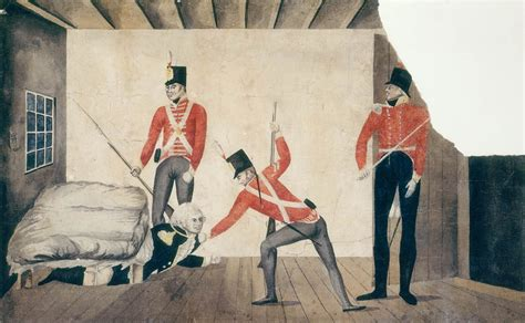 rum first paint on this day 1808 the rum rebellion