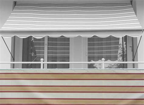 markisen paradies gutschein balkonbespannung 75 cm design nr 8600 beige creme