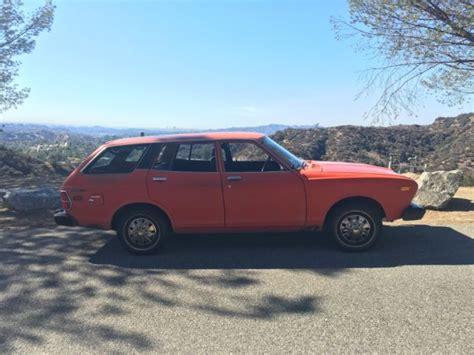 vintage datsun 1976 datsun 710 wagon nissan 160j violet l20b jdm vintage