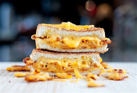 grilled cheese mac cheese grilled cheese bs in the kitchen