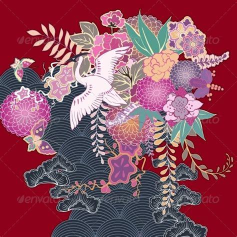 kimono pattern symbolism motif bali vector 187 dondrup com
