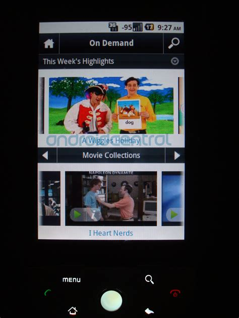 xfinity app android comcast xfinity android app look android central