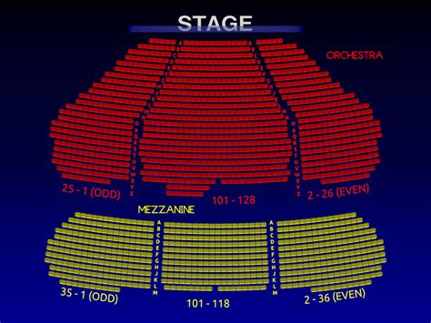 marquis theatre seating map marquis theatre broadway seating charts history info