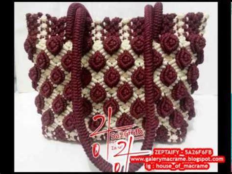 Tas Bentuk Bunga tas tali kur motif bunga timbul berbagai size dan bentuk