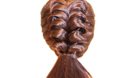 simple hairstyles with one elastic simple and very beautiful hairstyle with elastic bands