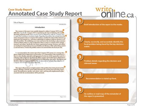 study introduction template write study report writing guide parts of a