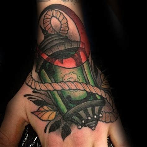 lantern tattoo designs  men flaming ink ideas