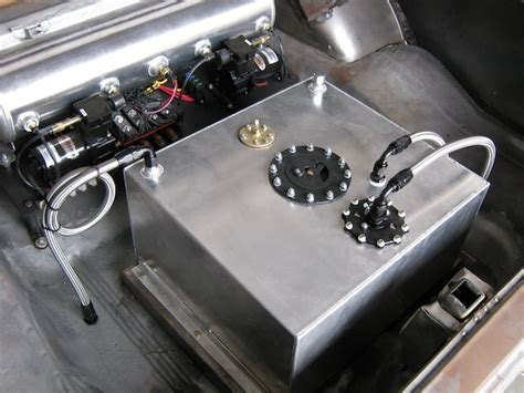 Fuel Cell Plumbing by Fueling S With Aeromotive S Stealth Fuel
