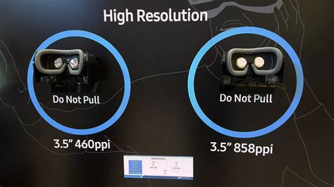 Vr Samsung Samsung S New Vr Display Has Nearly 3 5x More Pixels Than