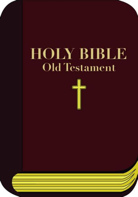 Bible Barnes And Noble Holy Bible Old Testament By Unknown Nook Book Ebook