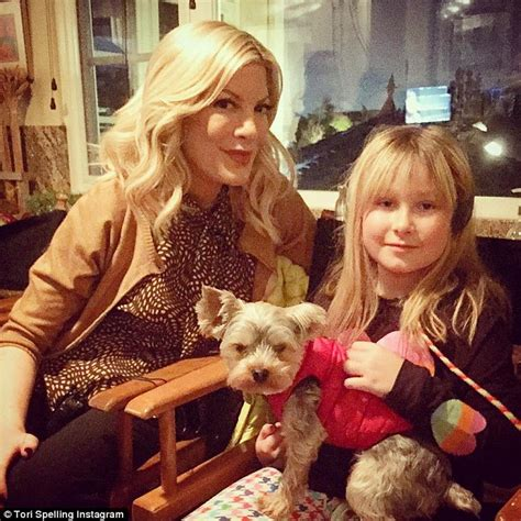 tor daughter tori spelling speaks on husband dean mcdermott s affair