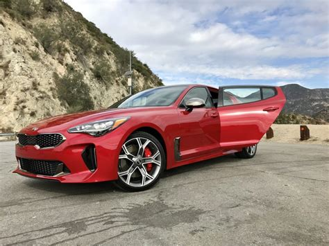 car and driver kia stinger drive review 2018 kia stinger the intelligent driver