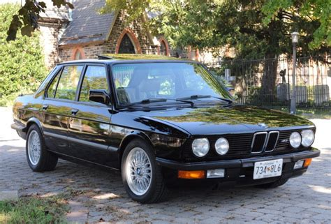 1988 Bmw M5 For Sale by 1988 Bmw M5 For Sale On Bat Auctions Sold For 26 750 On