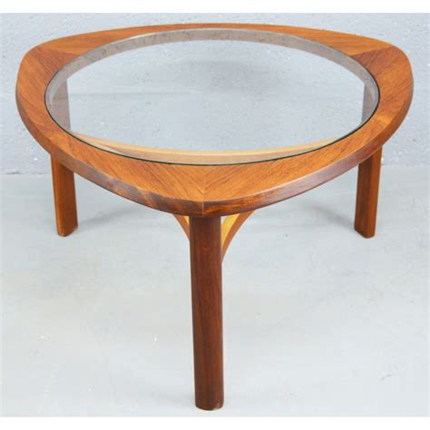 mid century teak table l vintage teak and glass coffee table for sale at