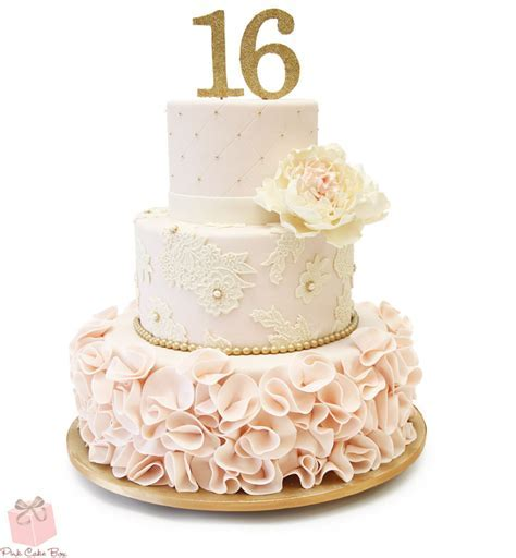 Sweet 16 Cakes in New Jersey » Pink Cake Box Custom Cakes & more