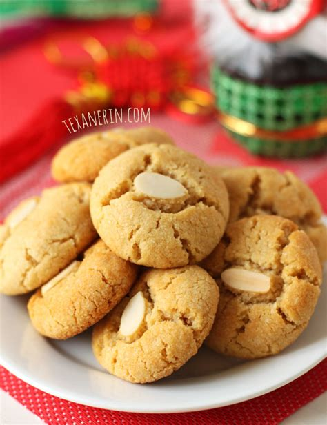 traditional new year cookies recipe almond cookies texanerin baking