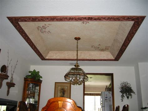 Dining Room Ceiling Murals Ceiling Mural Dining Room Traditional Dining Room