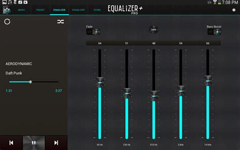 free java mp3 player with equalizer equalizer pro music player screenshot