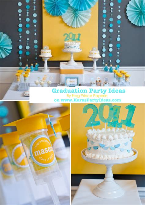 party themes university college graduation party decoration ideas party themes