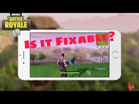 will fortnite be available on iphone 6 how will we play fortnite ios on iphone 6