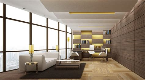 Modern Office Room Interior by Modern Executive Office Layouts Design Search