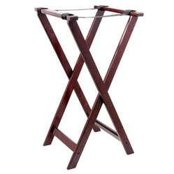 Stand Table Lancaster Table Seating 32 Quot Folding Wood Tray Stand