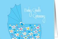 Baby Cradle Ceremony Invitations From Greeting Card Universe Cradle Ceremony Invitation Templates