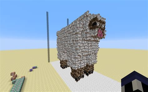 when was minecraft made antvenom s 3d sheep made of sheep x post from r