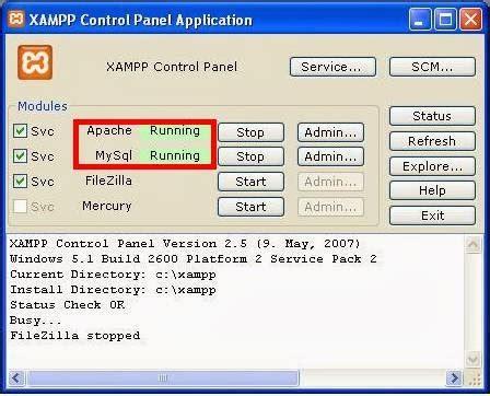 membuat database mysql melalui cmd membuat database menggunakan cmd dan xampp 1