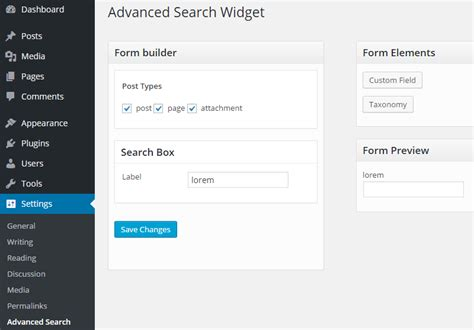 Advanced Search Post Meta Key And Taxonomy Searching Plugin