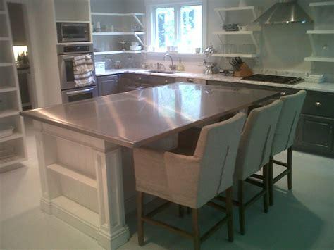 Steel Countertop by Stainless Steel Countertops Custom Metal Home