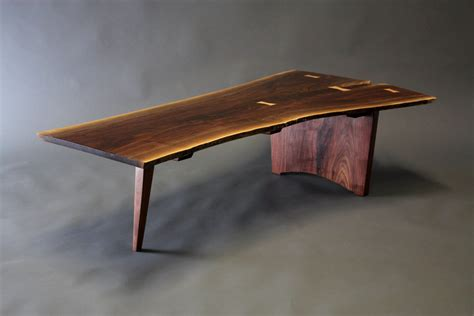 live edge walnut table live edge coffee table affordable hand made wild wild
