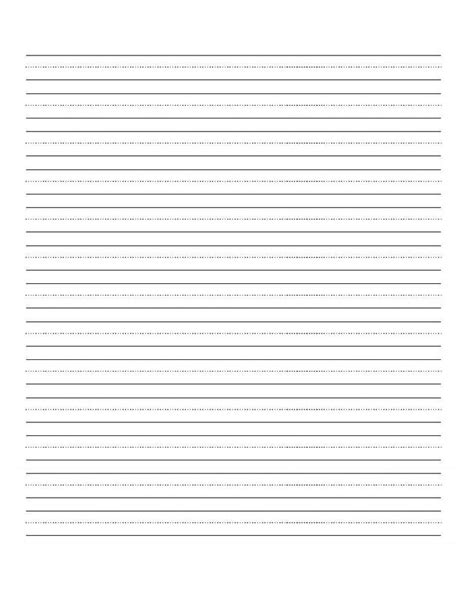 printable practice handwriting sheets 6 best images of free printable blank handwriting practice