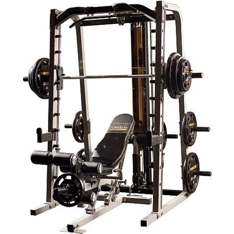 buy home buy powertec smith machine bench sold