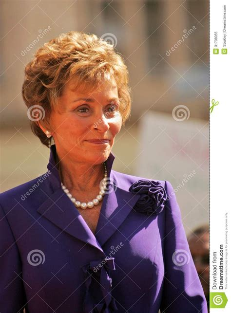 judge judy hairstyle pictures judge judy sheindlin editorial image image 31738055