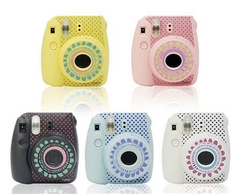 design doll camera fujifilm instax mini 8 camera sticker decoration by