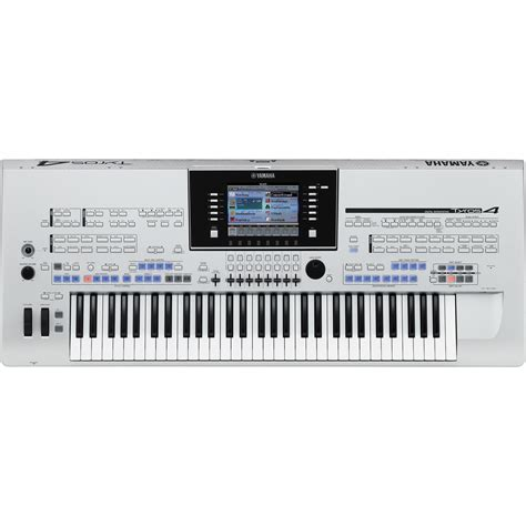 Update Keyboard Yamaha yamaha tyros4 61 key arranger workstation keyboard tyros410a b h